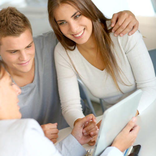 Mortgage Adviser With Couple